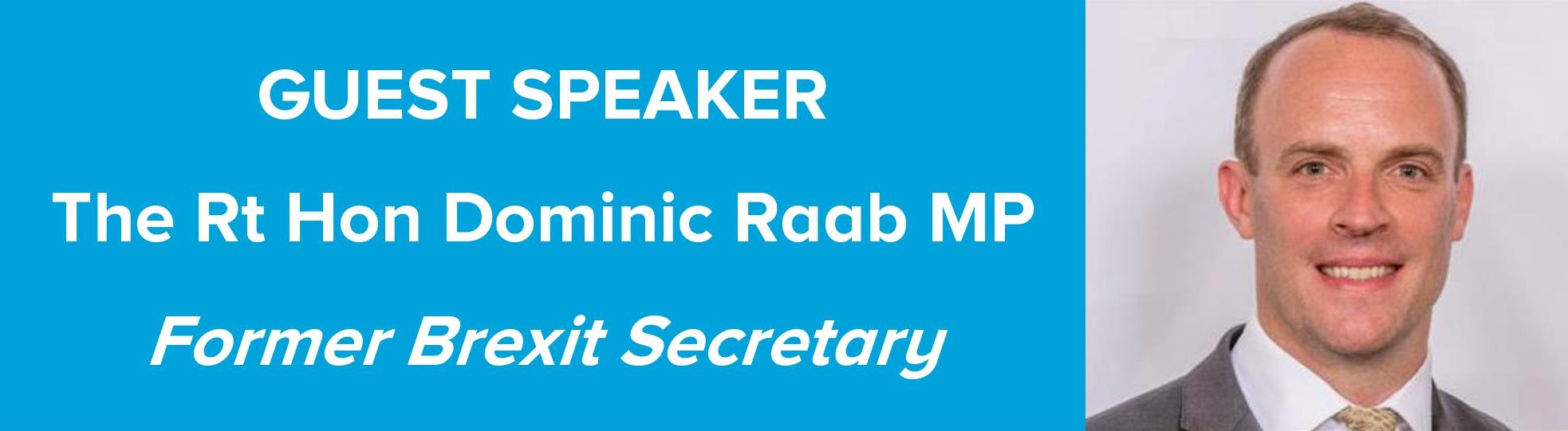 Summer Lunch with Dominic Raab MP